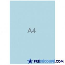 Feuilles A4 vierges Bleu Alizé