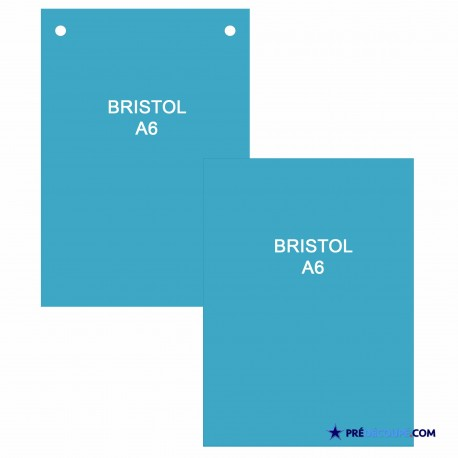 fiches bristol bleu turquoise a6 perfor es non perfor ees. Black Bedroom Furniture Sets. Home Design Ideas